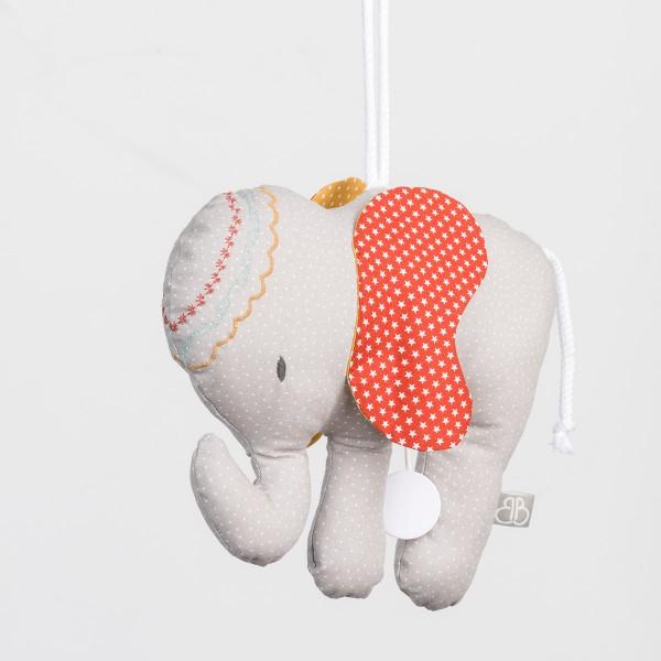 Spieluhr Elefant-Motiv
